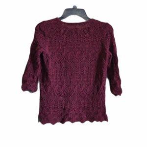 Jeanne Pierre Sweater Size Medium